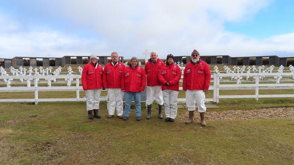 Exhumación en Malvinas: se encontraron 5 cuerpos en la tumba C 1.10