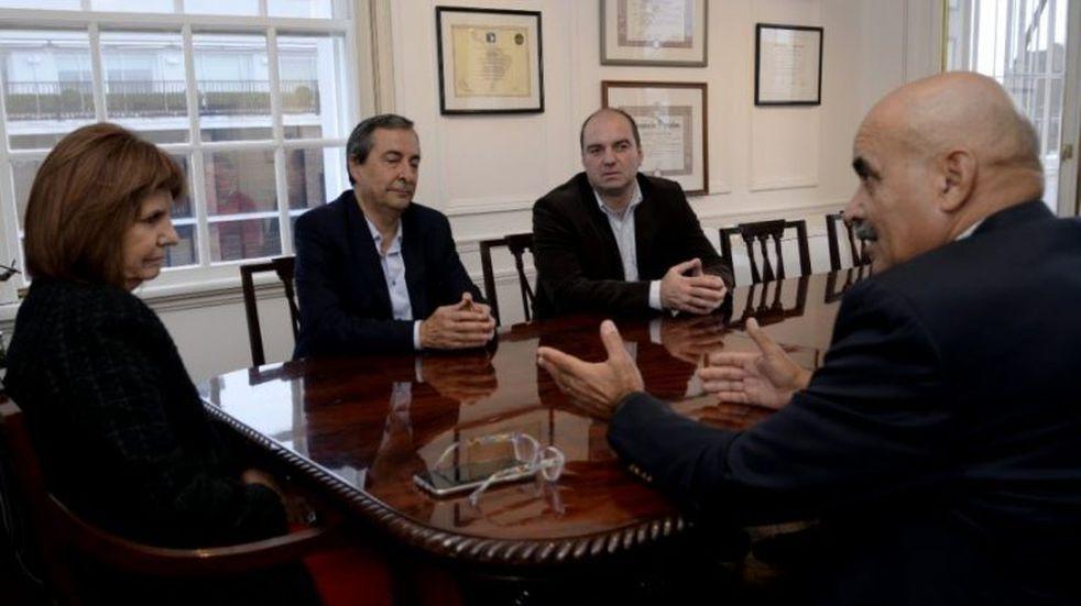 Narcotráfico: candidatos a la gobernación fueguina le plantearon la problemática a Patricia Bullrich
