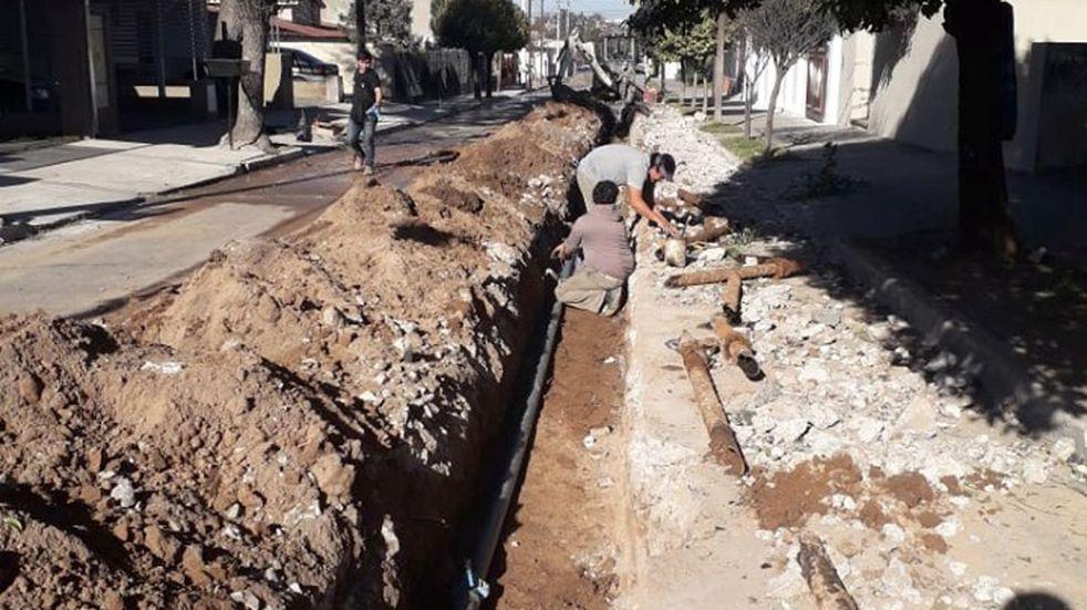 La Municipalidad inicia un plan de obras céntricas