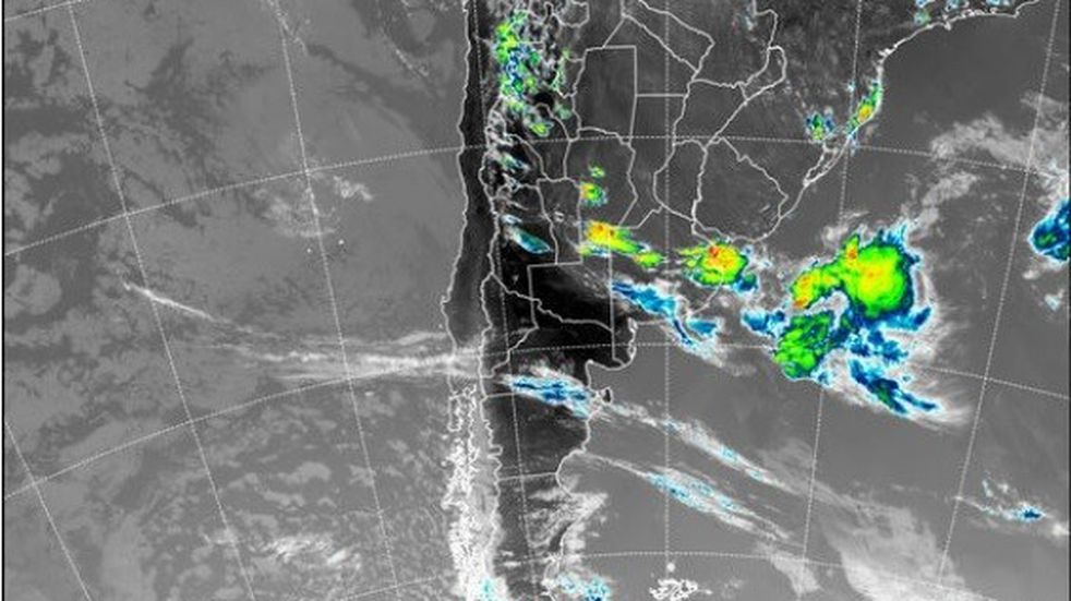 Hay alerta por tormentas intensas para La Rioja