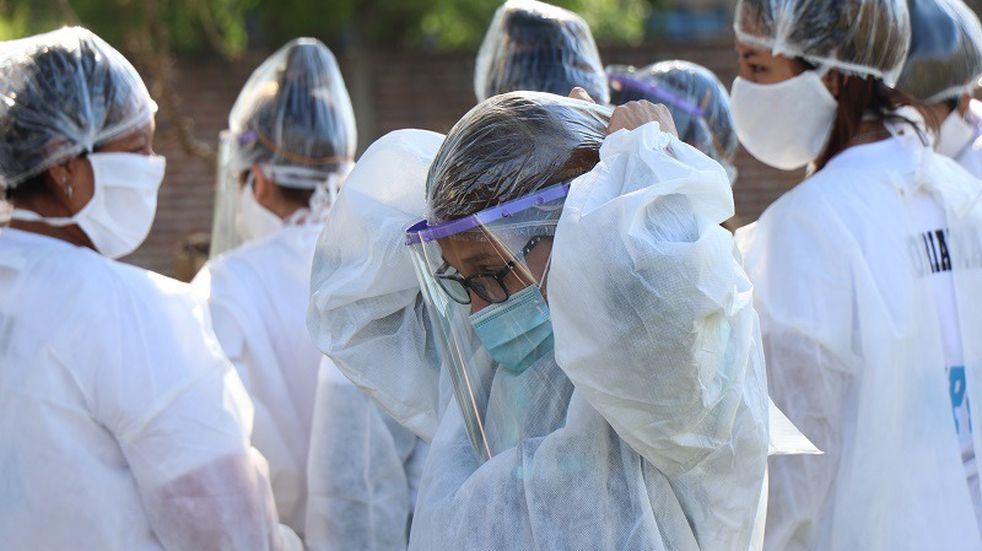 Trabajadores de ATE denuncian que en la Ciudad de Buenos Aires faltan vacunas para el personal de salud