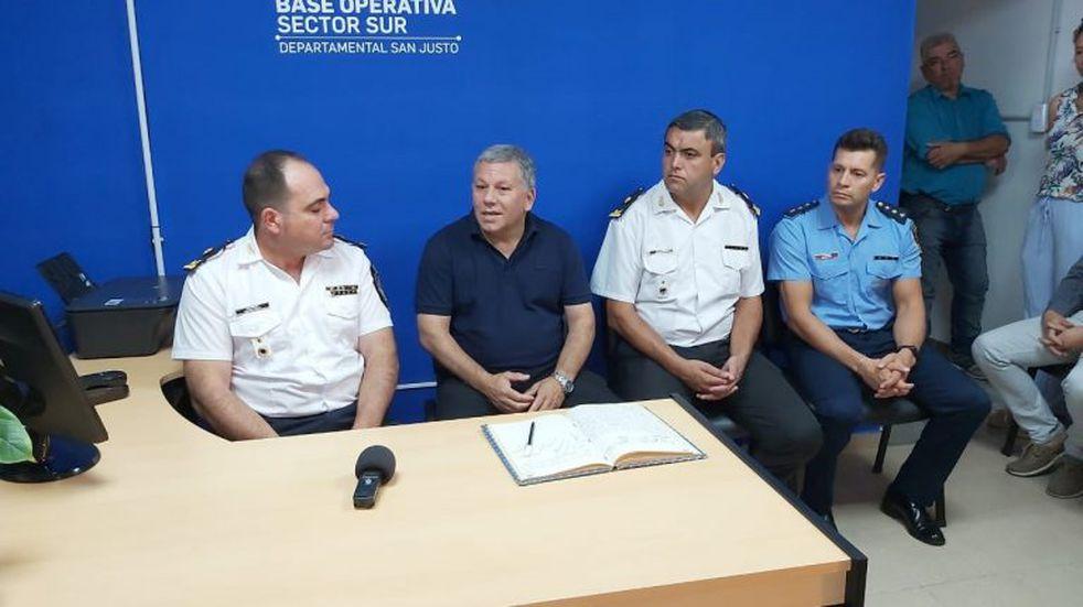 Milton Ullúa asumió al frente de la Dependencia Policial de Arroyito