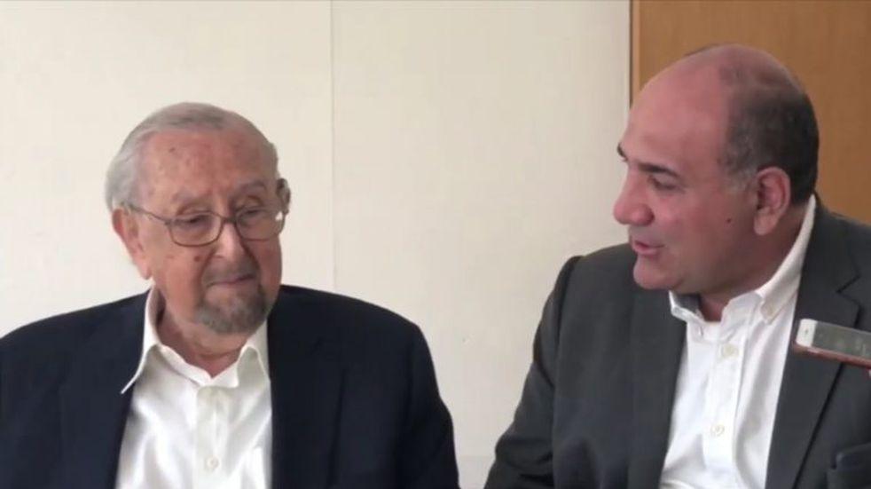 Difunden un video de una reunión entre Pelli, Manzur y el rector de la UNT