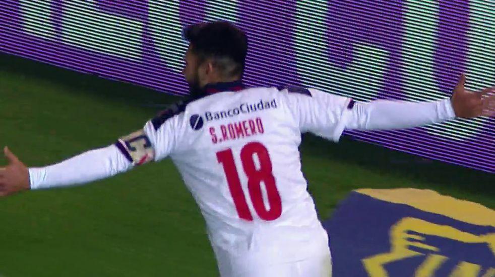 Independiente: Silvio Romero la picó y marcó un golazo ante Rosario Central