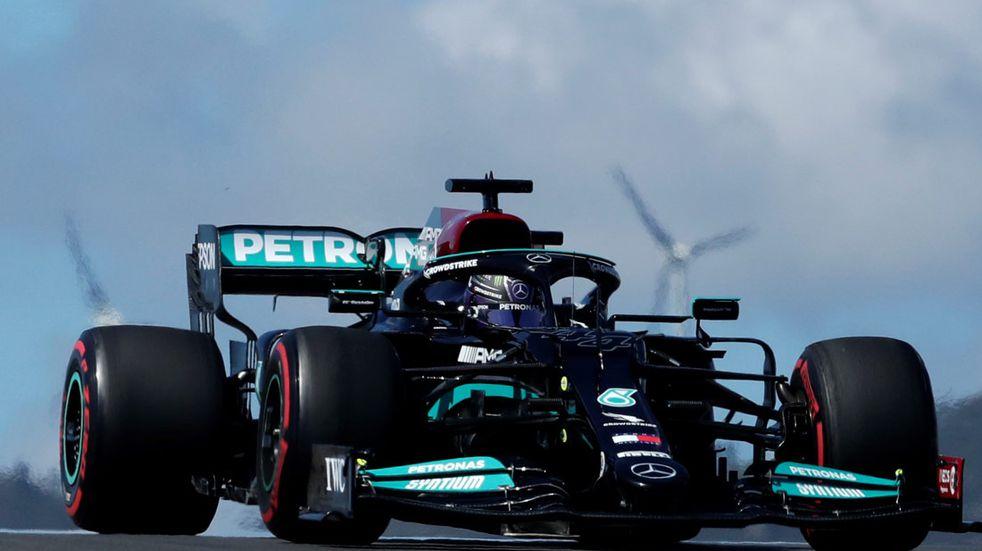 F1: Hamilton ganó en Portugal y se afirma en el campeonato