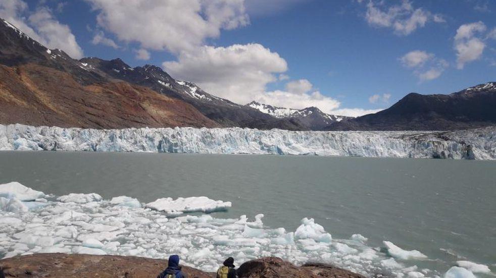 Calafate : continúa retroceso de Glaciar Viedma