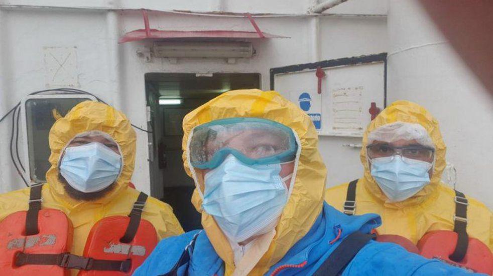 Cinco tripulantes de un barco que ancló en La Paz dieron positivo para Covid-19