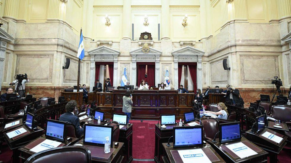 El Aporte Solidario y Extraordinario fue convertido en Ley por el Senado de la Nación. (Foto: Prensa Senado)