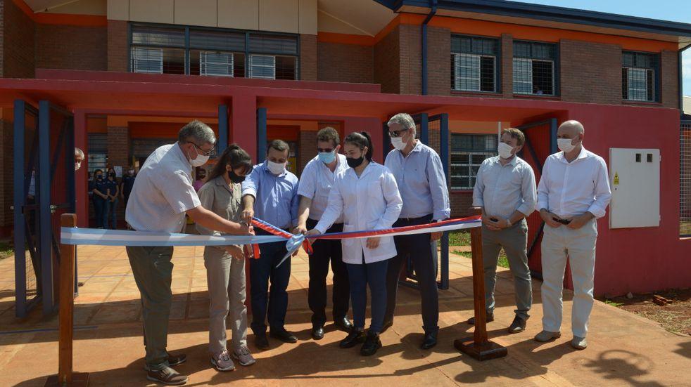 Inauguraron el edificio de la EPET Nº 21 en San Vicente