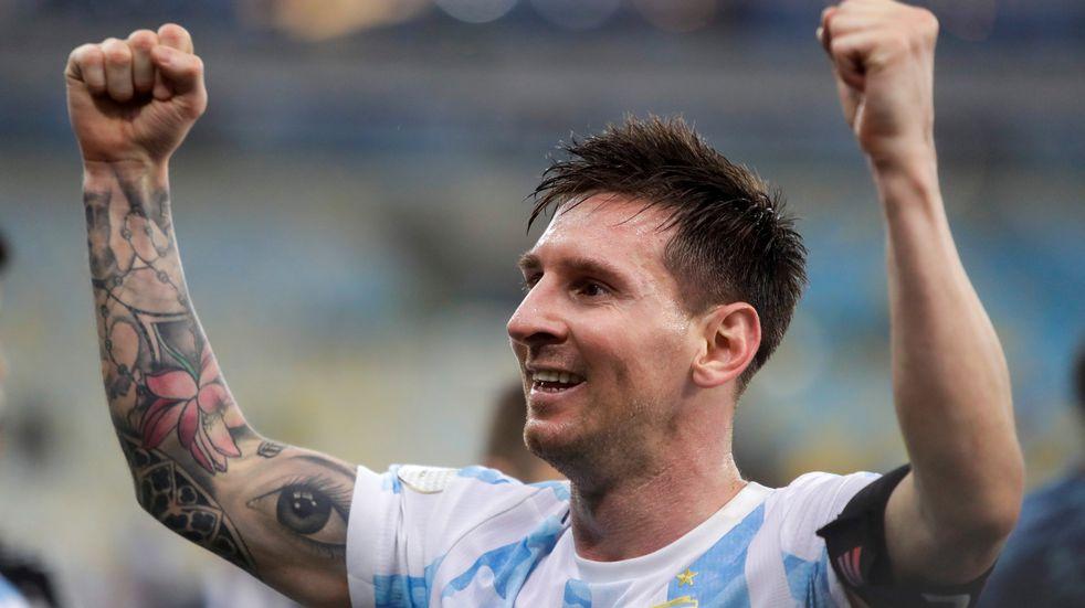 """Lionel Messi, tras ganar la Copa América: """"Esto es increíble, somos campeones"""""""