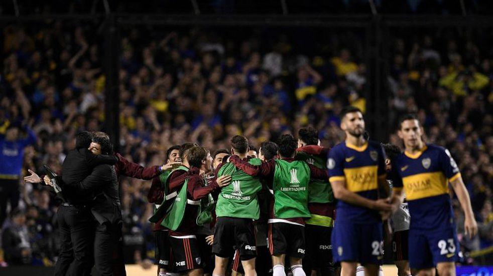River eliminó a Boca y es nuevamente finalista de la Copa Libertadores