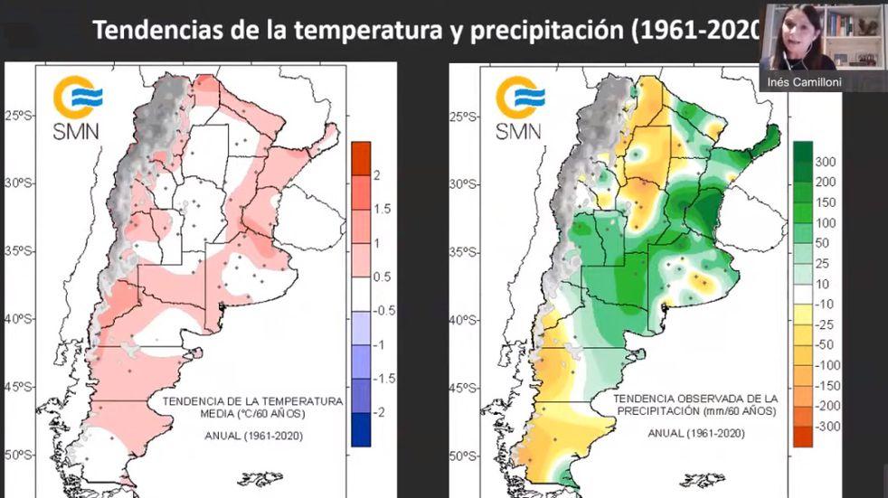 Impactos del cambio climático en el NEA con mayores lluvias y más calor