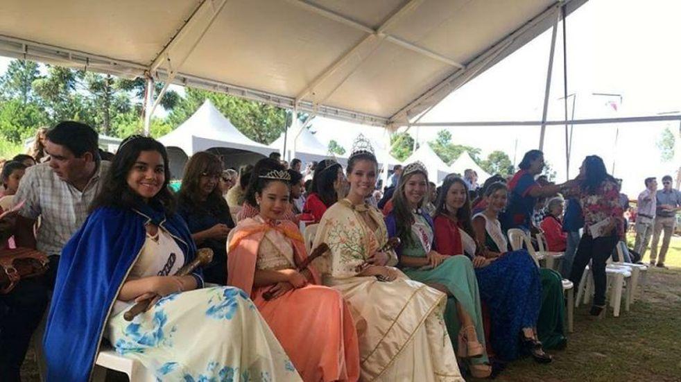 Almafuerte: hay nueva soberana de la Fiesta Provincial de las Frutas Tropicales