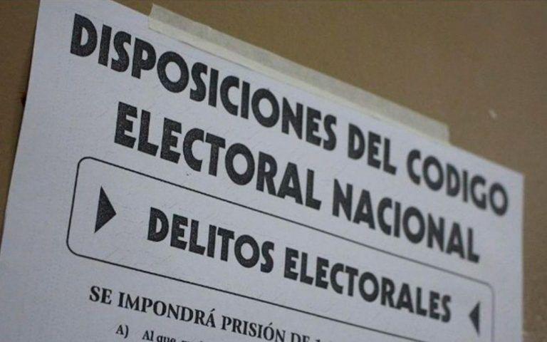 Veda electoral en el país