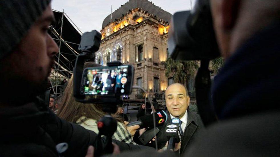 """Juan Manzur: """"Mauricio Macri siempre es bienvenido en Tucumán y más hoy cuando la Provincia es capital de la Argentina"""""""