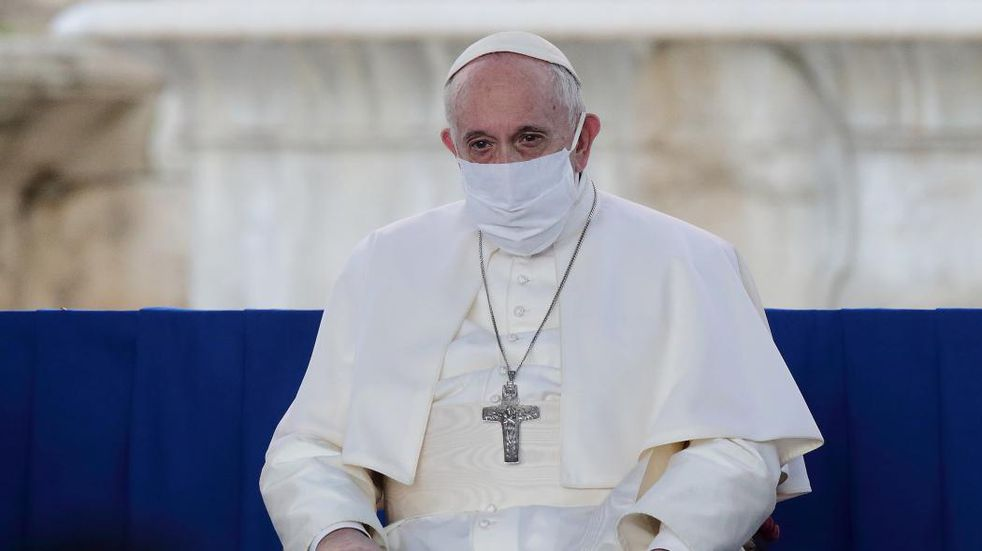 """El Papa Francisco llamó al diálogo en Colombia y defendió """"el derecho a manifestarse pacíficamente"""""""