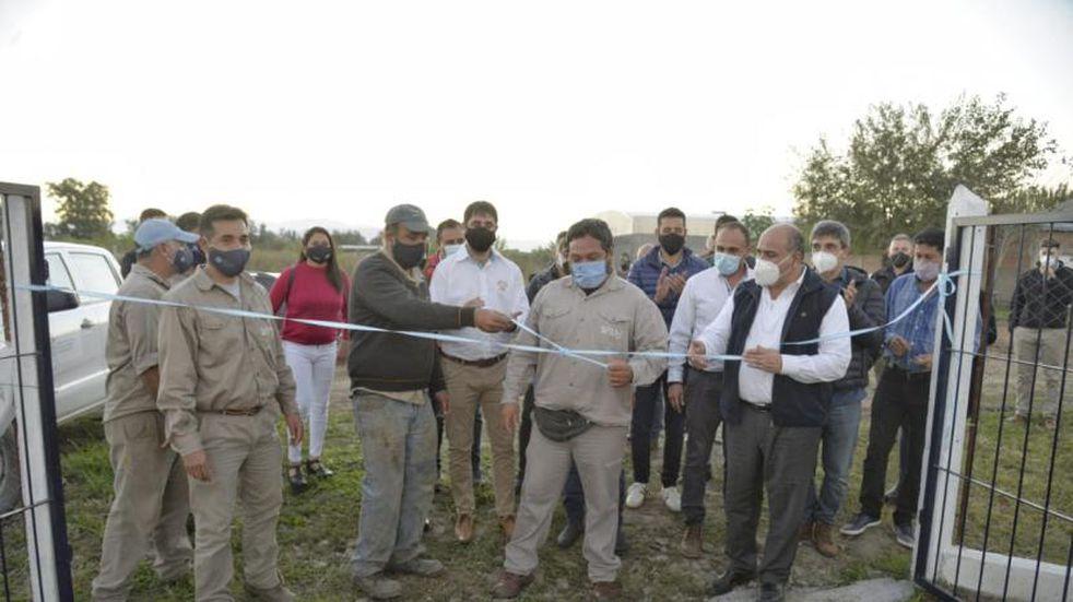 En El Chañar inauguraron nuevos pozos de agua