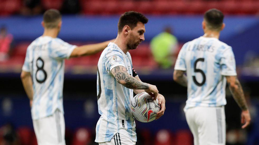 Cómo quedó la tabla de posiciones de la fase de grupos de la Copa América con el triunfo de Argentina