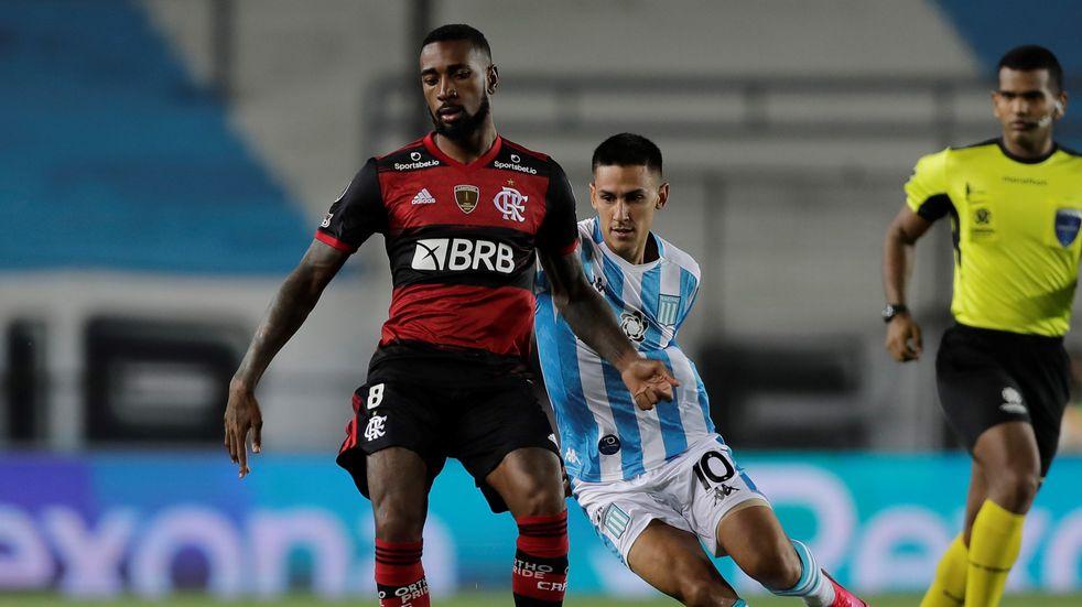 Racing empató 1-1 con Flamengo por los octavos de la Libertadores y la serie quedó abierta
