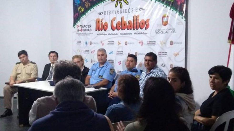 Río Ceballos: de acuerdo a datos policiales entre diciembre y enero sólo se produjeron 6 robos domiciliarios