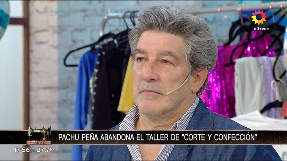 """Pachu Peña quedó nuevamente eliminado de """"Corte y Confección"""""""