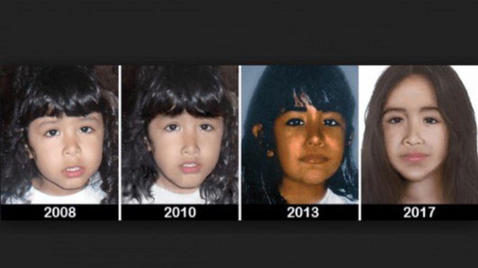 Saldrá a difusión el cuarto retrato actualizado de Sofía Yasmín Herrera