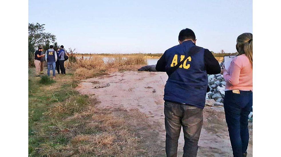 Identificaron al cuerpo que fue encontrado maniatado en el río Coronda