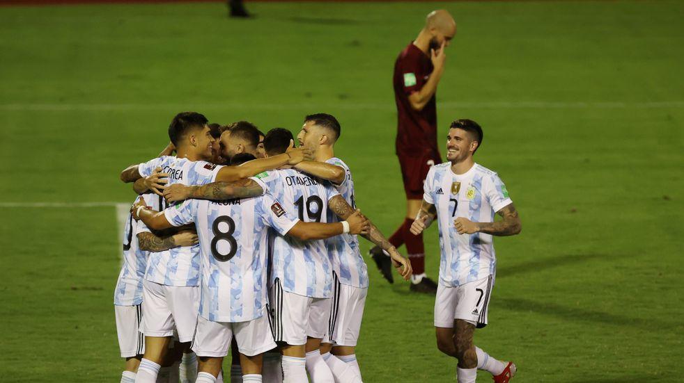 Cómo quedó la tabla de las Eliminatorias con el triunfo de la Selección Argentina