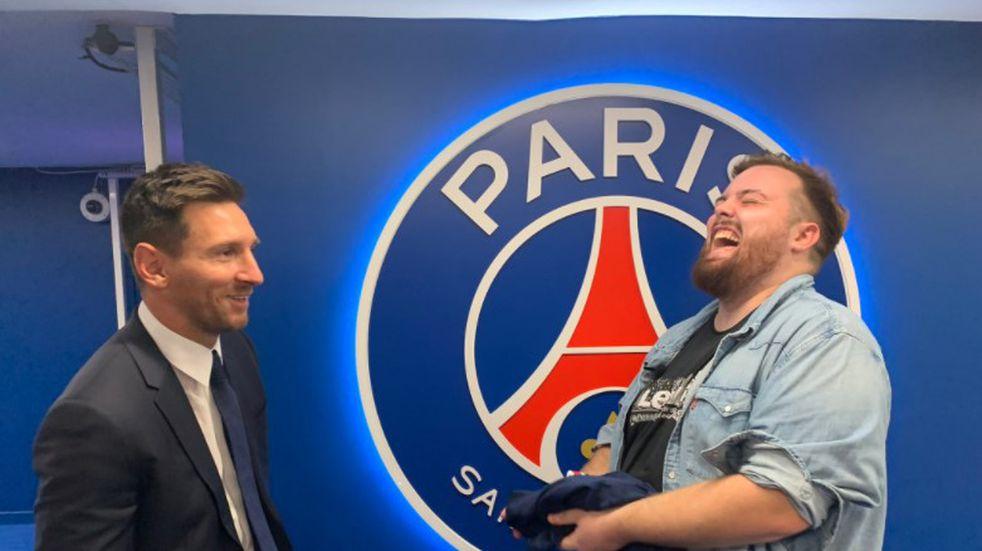 El debut de Leo Messi en Twitch: récord de espectadores y un imprevisto con Ibai Llanos