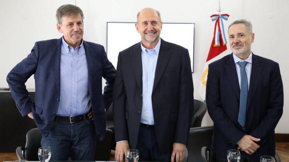 Santa Fe abrió su mesa de coordinación en seguridad con Perotti y Jatón