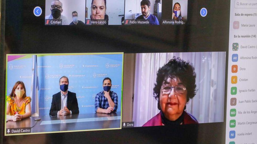 Ley Micaela - Dora Barrancos brindó una capacitación virtual en Gualeguaychú.\nCrédito: Vía Gualeguaychú