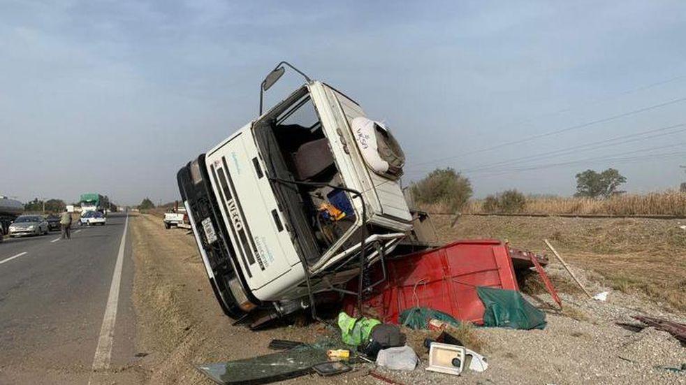 Tránsito: falleció un motociclista sobre Ruta 19 en un accidente vial