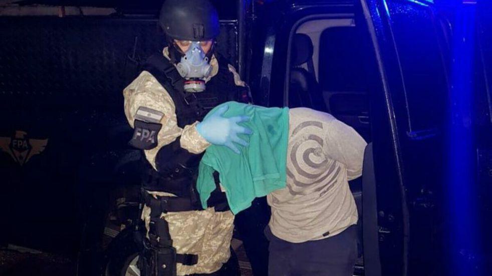 Detenido por vender drogas en el sector de los juegos infantiles de una plaza