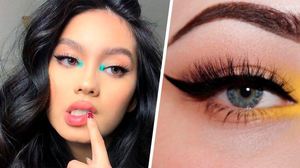 El maquillaje para resaltar la mirada que será tendencia: toque de color en el lagrimal