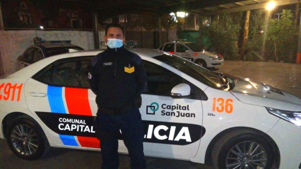 Efectivos de la Policía Comunal de Capital salvaron a un bebé sanjuanino que no respiraba