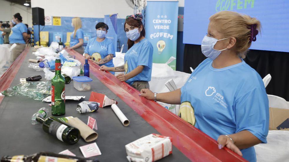 Ecofem: el primer Centro Verde de Córdoba a cargo de mujeres