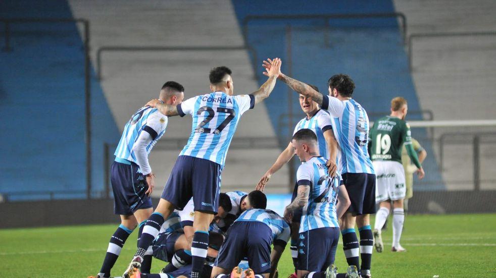 Racing es el único equipo sin goles en contra en la Liga Profesional de Fútbol