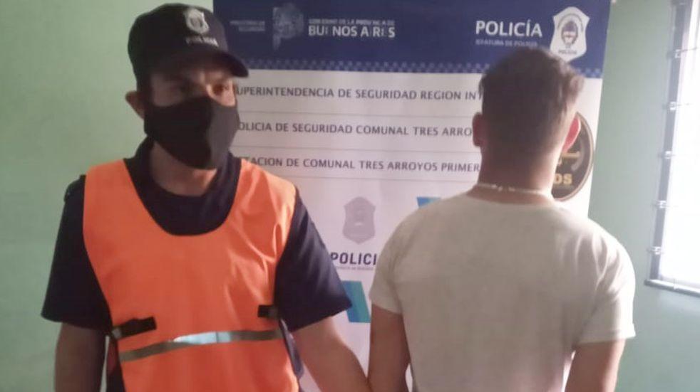 Detienen a un hombre que tenía pedido de captura por robo