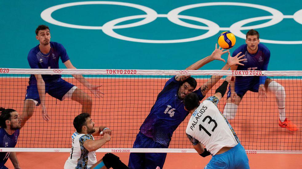 Vóley: Argentina perdió ante Francia y jugará con Brasil por el bronce en Tokio 2020