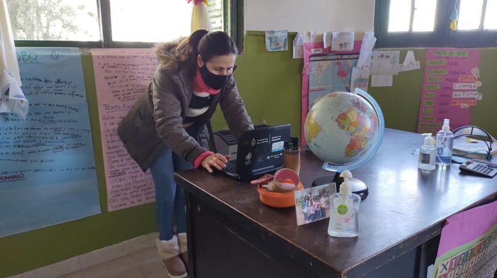 Seis escuelas rurales de Azul ahora disponen de internet