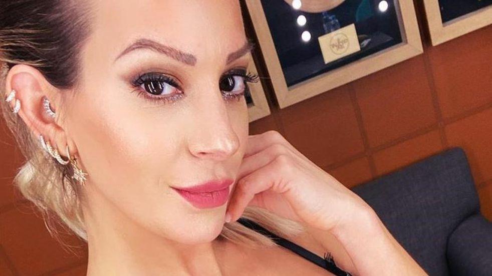 """El novio de Noelia Marzol escrachó a la actriz con una foto de entrecasa: """"Expectativa vs. realidad"""""""
