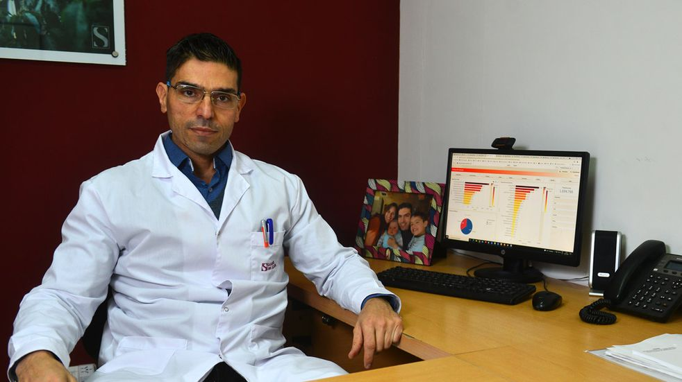 Coronavirus: el optimismo de un terapista de Córdoba