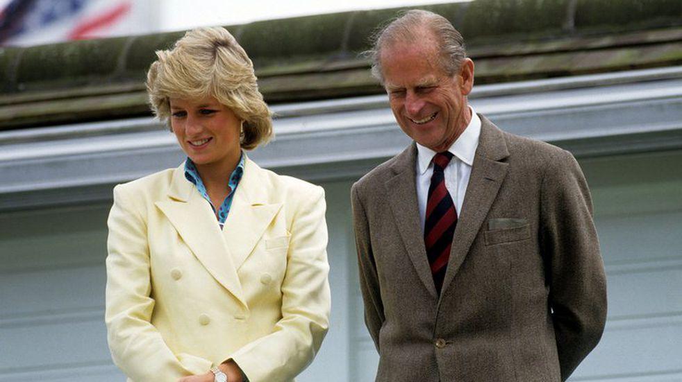 El Príncipe Felipe, un gran apoyo para Lady Di dentro de la Familia Real