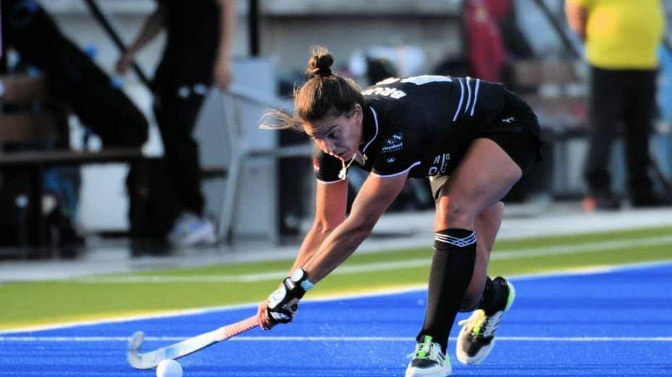 Antonella Bruni será integrante de la selección italiana de hockey