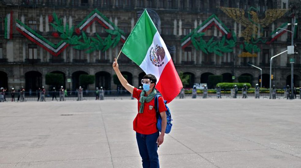 Hasta el último reporte, hay 1.825.519 contagios confirmados, uno de ellos, el del presidente, Andrés Manuel López Obrador. Foto: AFP