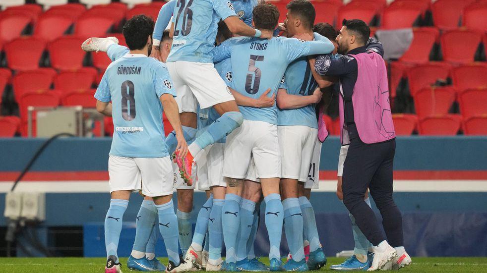 Champions League: Manchester City se le dio vuelta 2-1 al PSG en París