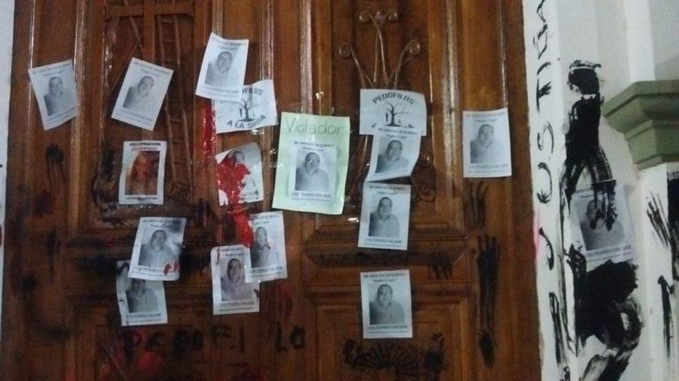Vecinos de El Carmen reclamaron justicia en el caso de abuso infantil