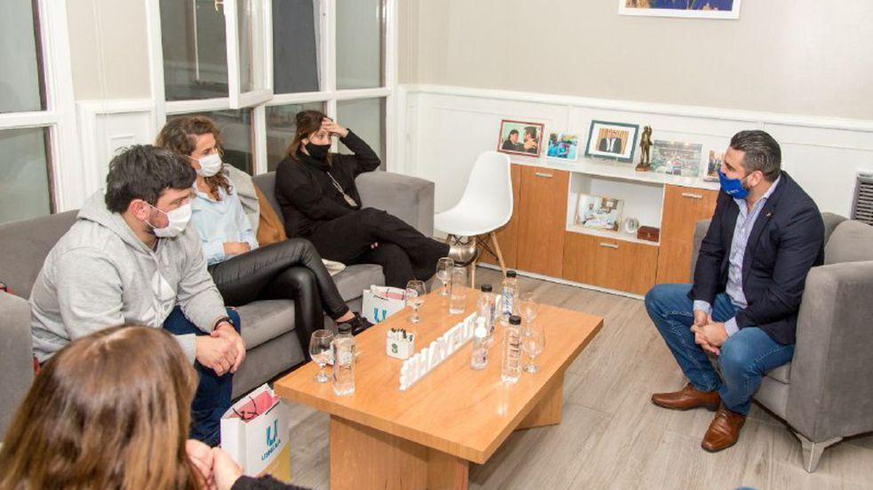 Vuoto participó de un encuentro con autoridades del Ministerio de Salud de Nación