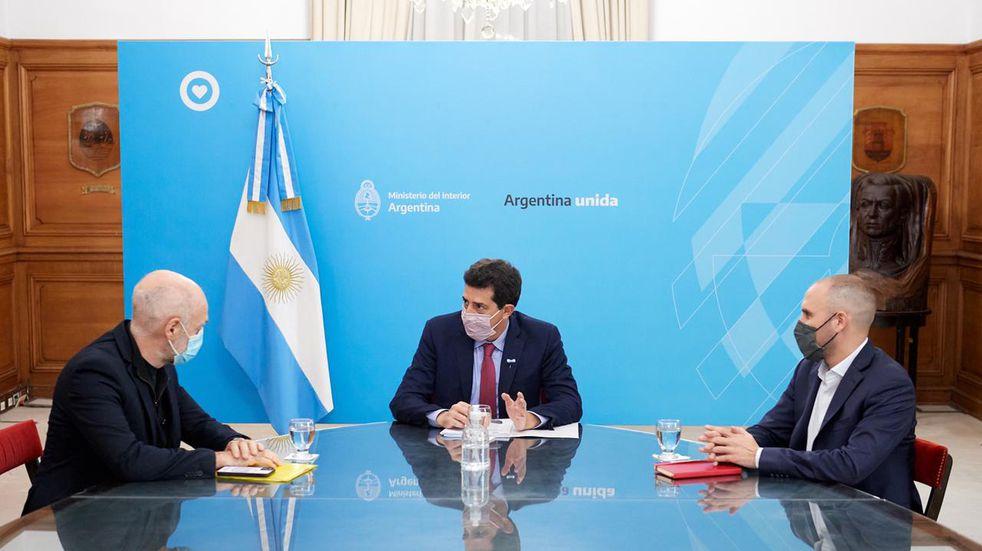 Nación y Ciudad acordaron reunir equipos técnicos para el traspaso de recursos para seguridad