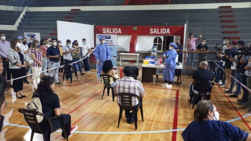 San Juan ya colocó el 91,4 % de las 773.760 dosis recibidas de Nación